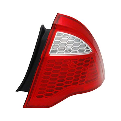 Value Tail Lamp Lens/Housing Rear Passenger Side For Ford Fusion OE Quality Replacement ()