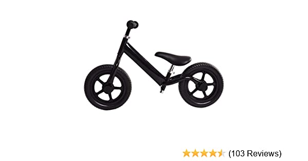 41f82ae1392 Amazon.com: Costzon Kids Balance Bike, 12 Inch Classic Lightweight No-Pedal  Toddlers Walking Bicycle w/Height Adjustable Seat and Handle, for Children  Boys ...
