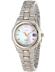 Seiko Womens SUT060 Dress Solar Classic Watch
