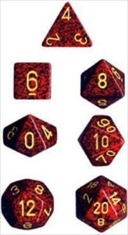 代引き人気 Chessex Manufacturing 25323 7 25323 B00OU6RIGY Mercury Speckled Polyhedral Dice Set Of 7 B00OU6RIGY, ジャパンライム:00f46674 --- martinemoeykens.com