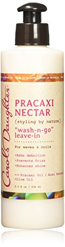 Carol's Daughter Pracaxi Nectar Wash-n- Go Leave-In, For All Hair Types, 8 fl oz (Packaging May Vary) by Carol's Daughter