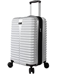 Ciao Carry On 100% PC Lightweight Expandable Luggage With Spinner Wheels