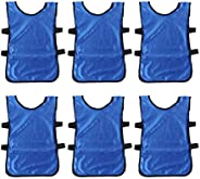 Toyvian Scrimmage Team Practice Vests Green Sports Training Pinnies Jerseys for Children Youth Sports Basketba