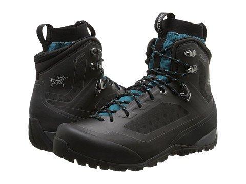 (アークテリクス)Arc'teryx レディースアウトドアハイキングブーツ靴 Bora Mid GTX [並行輸入品] B074GM5ZH3 11 (28cm) B M|Black/Mid Seaspray Black/Mid Seaspray 11 (28cm) B M