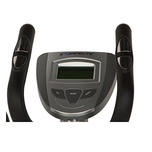 Exerpeutic 1000XL Heavy Duty Magnetic Ellipticals with Equipment Mat