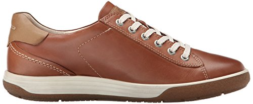 ECCO mahogany 2195 Marrone Top Low Donna 236803 rx1Cqr