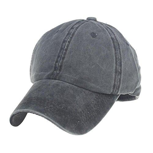 Nesee Fashion Women Men Couple Baseball Cap Unisex Snapback Hip Hop Hat Cap (Dark Gray) (Cartoon Pirate Hat)