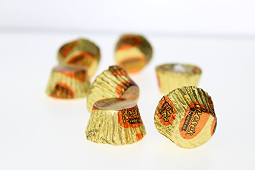 Reeses Crystal Candy Bowl with 6.2 oz. Individually Wrapped Reeses Peanut Butter Cups – Crystal Kiss Gift Set for Valentines Day, Weddings, Anniversary by Gold Label (Image #3)