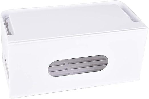 Wifehelper Caja Organizadora de Cables Diseño de Cajón Extraíble ...