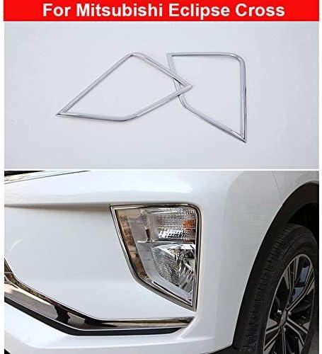 Chrom Front Nebelscheinwerfer Lampenschirm Zierleiste Für Eclipse Cross 2018 2019 2020 2 Stück Auto