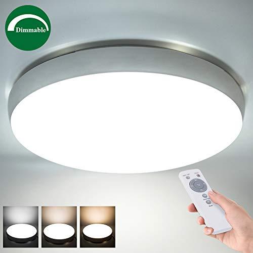 Top 2 lamparas de techo led con bluetooth