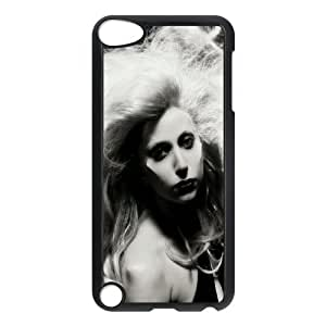 C-EUR Customized Print Lady Gaga Pattern Hard Case for iPod Touch 5