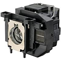 ELPLP67 Replacement Lamp for Epson Projectors - 200 W Projector Lamp - UHE - 4000 Hour Normal