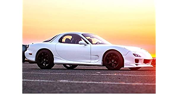 Mazda RX7 1993 1997 99 Spec 2 Piece Polyurethane Side Skirts Manufactured By KBD Body Kits Extremely Durable Easy Installation Guaranteed Fitment And