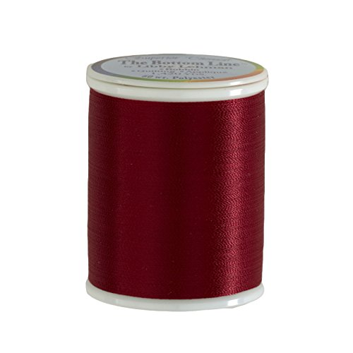 (Superior Thread Bottom Line Polyester 60wt 1420yds Red)