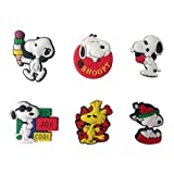 Snoopy Shoe Charms 6 Pcs Set #1