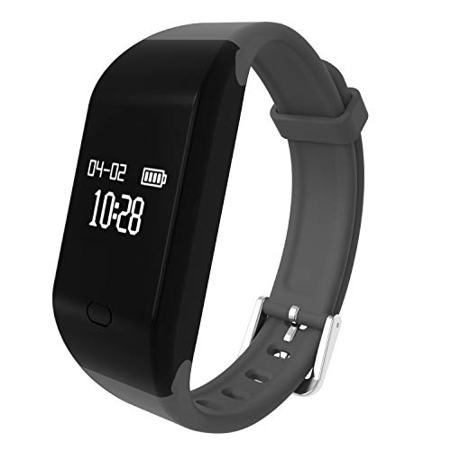 Fitpolo Fitness Tracker HR,Activity Tracker with Heart Rate Monitor, IP67 Waterproof Smart Bracelet, Fitness Watch with Calorie Counter,Sleep Monitor,Pedometer Watch for Kids Women and Men