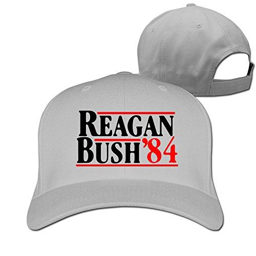 Price comparison product image JADE Fashion Unisex-Adult Reagan Bush 84 Fishing Caps Ash