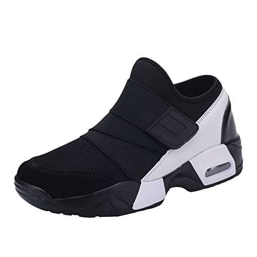 TIFENNY Casual Men's for Adult Tennis Running Shoes Lightweight Breathable Sneakers Elastic Bottom Soft Shoe ()