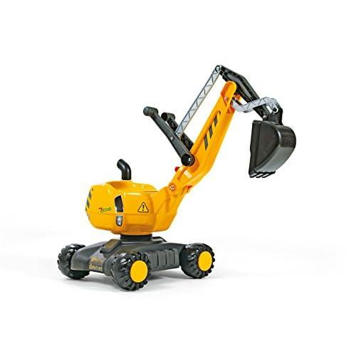 Rolly Toys - 42 100 8 - Véhicule Miniature - Voiture - Excavatrice Sur Roues Cat