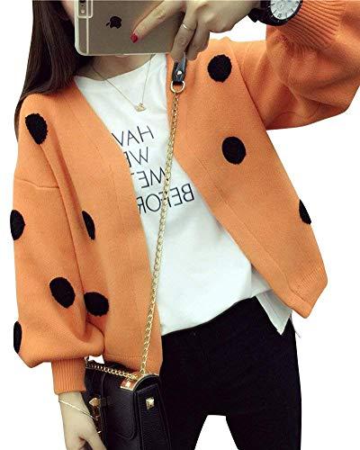 Femme Automne fashion Cardigan Manteau El Laisla Tricot en Printemps 4cIawwTq