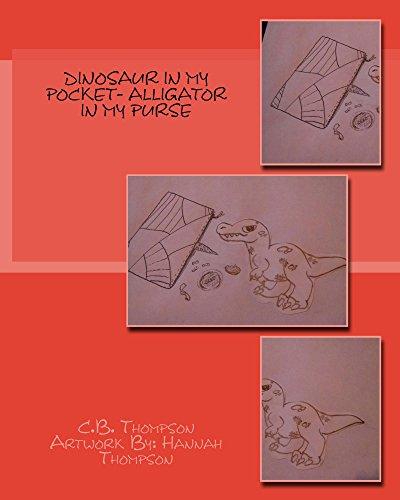 Dinosaur In My Pocket- Alligator In My Purse