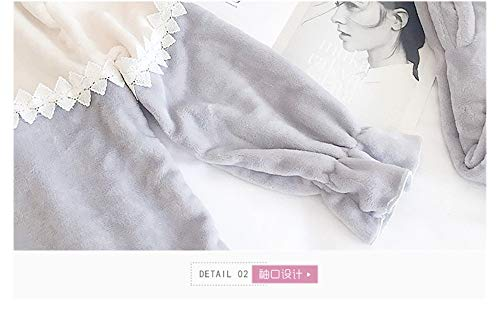 E Servicio Terciopelo Domicilio Pijamas A Baijuxing Larga Invierno Xl Pantalones Coral Engrosamiento Lindo Dormir De Manga Mujeres Otoño Franela Sets 2 Caliente q8EfaEAwx