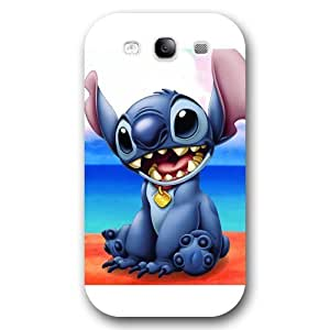 UniqueBox Customized White Frosted Samsung Galaxy S3 Case, Lilo and Stitch Samsung S3 case, Only fit Samsung Galaxy S3