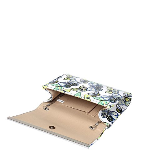 Rose Envelope Women's Butterfly EAMUK Bag Patent Handbag MA35008 Purse Summer Clutch Bag Ladies Evening qOH004t
