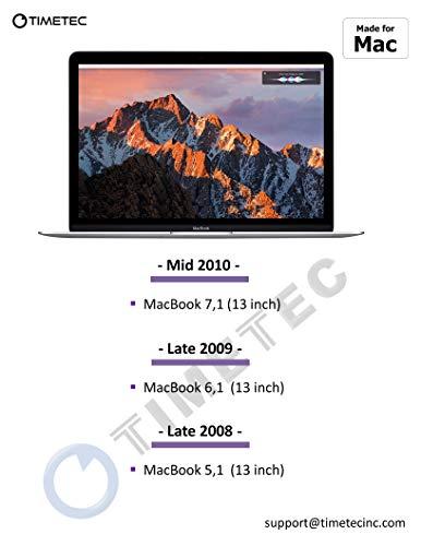 """8GB 2x4GB PC3-8500 DDR3 RAM For MacBook 13/"""" Late 2008 A1278 MB466LL//A MB467LL//A"""