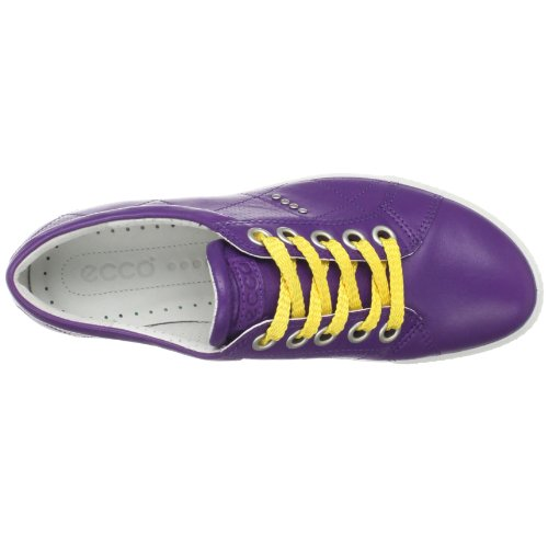 Ecco Womens Street Premiere Lace-up Mode Sneaker Imperial Violet
