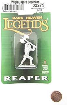Dark Heaven Legends Reaper 02275 Wiglaf Kjord Berserker