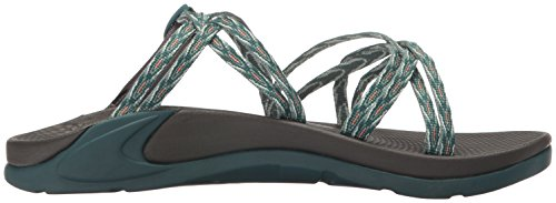 Chaco mujer wrapsody X Athletic Sandal verde azulado (Key Teal)