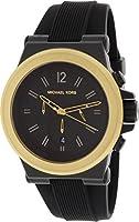 Michael Kors Dylan Men's MK8383 Black Silicone Strap Chronograph Watch