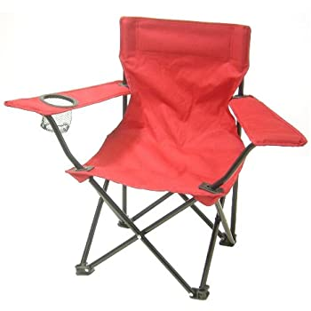 Amazon Com Redmon For Kids Kids Folding Camp Chair Red