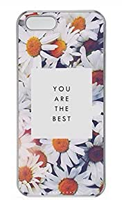 iPhone 5 5S Case Beautiful Flowers 04 Cover Skin For iPhone 5/5S Cases Transparent