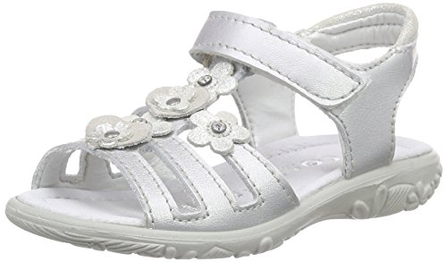 Ricosta Fille Grau Silber Ouvertes Sandales 410 Gris Chica rqHct4Wwr