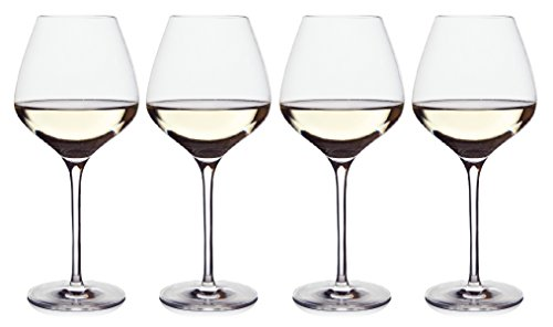The One Wine Glass - Perfectly Designed Shaped White Wine Glasses For All Types...
