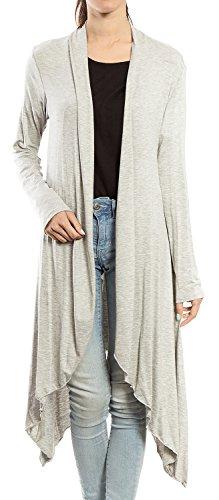 URBAN Womens Sleeve Asymmetrical Cardigan product image