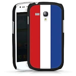 Carcasa Design Funda para Samsung Galaxy S3 Mini I8190 HardCase black - Niederlande