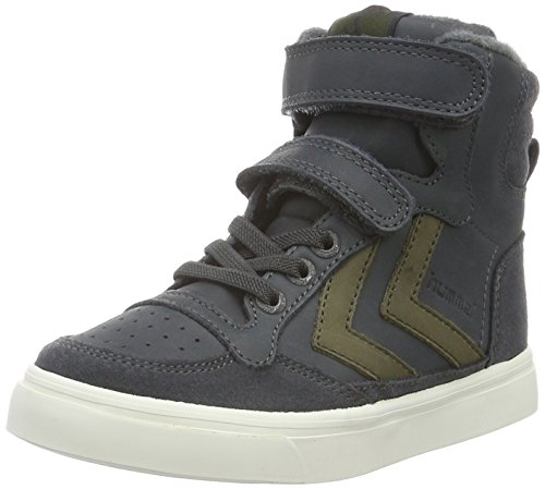 Shadow Oiled Jr Hummel Grau High Jungen Top Dark Sneaker Stadil pzRqTxwP