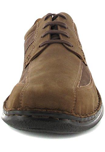 Josef Seibel - Zapatos de cordones de Piel para hombre Marrón marrón
