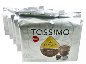 tassimo t discs gevalia mocha flavored coffee t disc pods. Black Bedroom Furniture Sets. Home Design Ideas