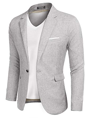 COOFANDY Men's Casual Sport Coats Lightweight Suit Blazer Business Jackets