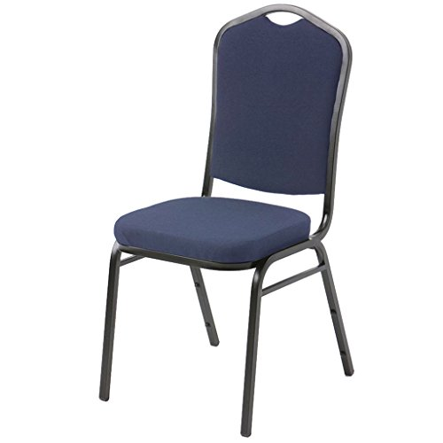 g Chair - Black Fabric, Black Vinyl, Navy Fabric (Navy Fabric) (Navy Stacking Chair)