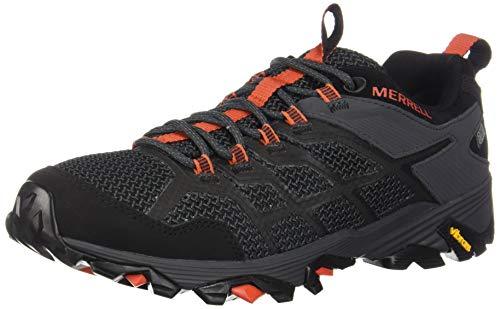 Merrell Men's Moab FST 2 Waterproof Hiking Shoe, Black/Granite, 12.0 M US (Men Merrell Waterproof Shoes)