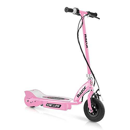 Razor E125 Motorized 24-Volt 10 MPH Rechargeable Girls Electric Scooter, Pink (Razor Electric Bike Motor)