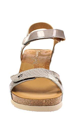 PANAMA JACK Julia Snake - Damen Schuhe Sandaletten - b4-charolgrey
