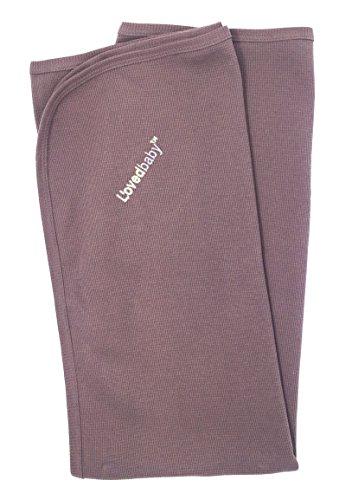 L'ovedbaby Unisex-Baby Newborn Organic Swaddling Blanket (Thermal Amethyst) (Thermal Receiving Blanket Purple)