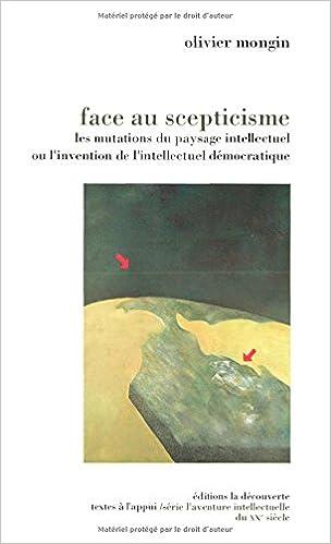 Téléchargement Face au scepticisme pdf, epub